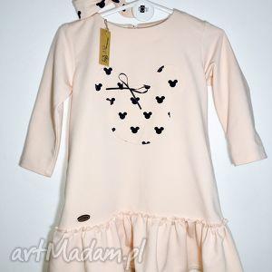 sukienka myszki z opaska, sukienka, ubranka, oryginalny prezent