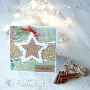 ręcznie wykonane upominek kartka świąteczna boże narodzenie