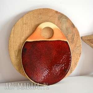 Podstawka ceramiczna, podstawka, talerz, patera, miska, obrus