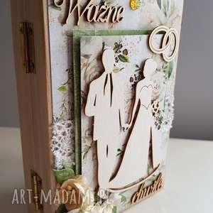 maly koziolek szkatułka na wspomnienia, zdjęcie, ramka, szkatułka, ślub