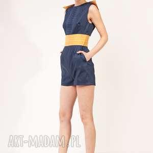 ręcznie robione spodnie kombinezon bangon