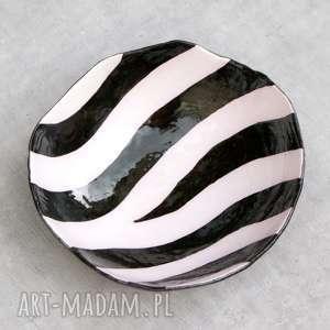 hand made ceramika misa zebra