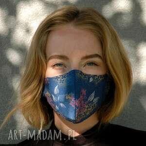 maseczka profilowana w kwiaty, maseczka, maska, ochronna, uniwersalna