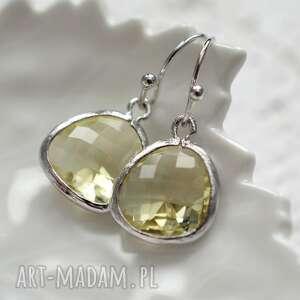 lemon sorbet in silver, wiszące, lato, srebro, kryształ, wyjątkowy prezent