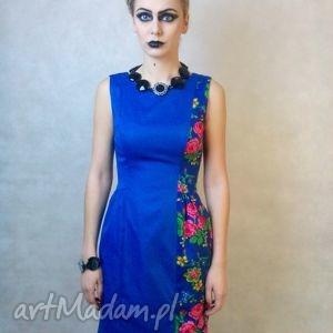 sukienki folk design sukienka klasyk, folk, góralska, unikat, design, wyjątkowy