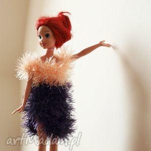 ręcznie robione zabawki sukienka dla lalki barbie