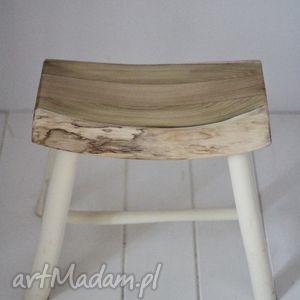 Dom seehome stołek, tabret, drewniany, stolik, dzieci