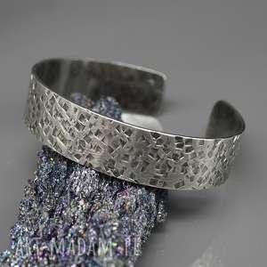 handmade srebrna bransoleta eofor