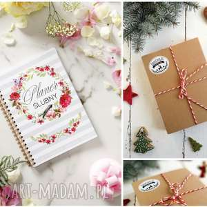 planer organizer notatnik ślubny panny młodej w pudełku, planer, ślub, notatnik