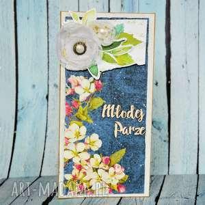 motylarnia kartka - młodej parze 1, kartka, ślub, młoda para, życzenia