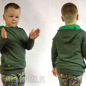 khaki ciepła bluza dziecięca, rozmiary 68-128, bluza