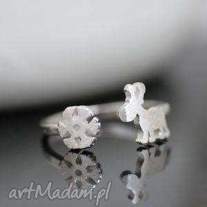 pomysł na świąteczny prezent 925 Srebrny pierścionek ŚWIĘTA , święta, śnieżynka