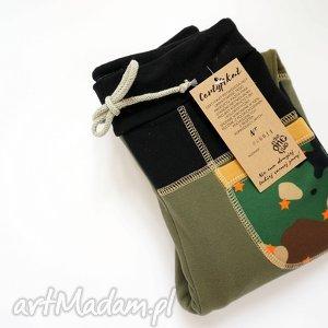 Prezent ONLY ONE No 014 - spodnie dziecięce 128 cm, dres, bawełna, recykling, eco
