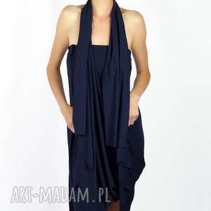 SUKIENKA WIELOFUNKCYJNA - KOLOR NAVY BLUE, sukienka, sukienki, granatowa, modna
