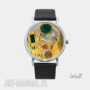Prezent Zegarek z grafiką KLIMT KISS, gustav, miłość, pocałunek, sztuka, obraz