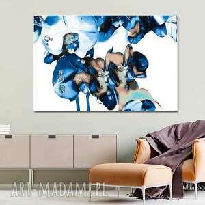 Obraz na płótnie diamentowe storczyki 120 x 80, białym tle