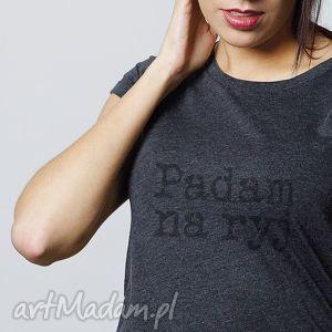 padam na ryj koszulka damska, tshirt, koszulka, napis ubrania, wyjątkowy prezent