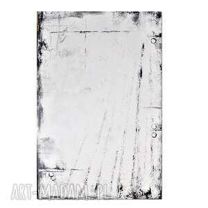 obraz tabula rasa r, abstrakcja, nowoczesny ręcznie malowany