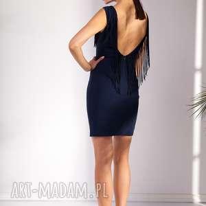 sukienka ama - moda, frędzle, wesele
