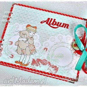 Prezent Album na fotografie dla Dziewczyki - urodziny, album, dziecko, dziewczynka