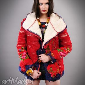 kurtki kurtka folk design, ubrania