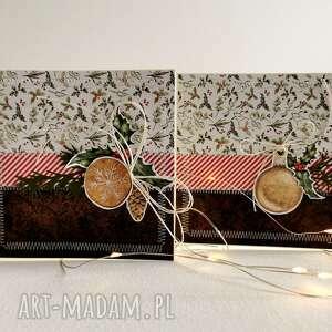 Pomysły na prezenty święta! Zestaw 2 świątecznych kartek
