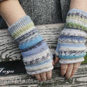 ręcznie wykonane rękawiczki zamówienie pani magdy