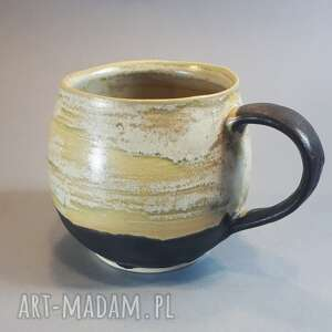ceramika kubek niezłe ziółko, zioła, herbata, bolesławiec