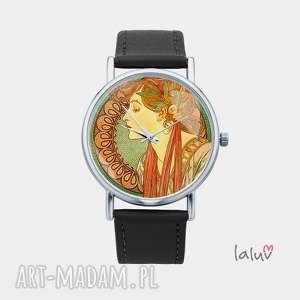 zegarki zegarek z grafiką laurel, mucha, alfons, obraz, sztuka, reprodukcja