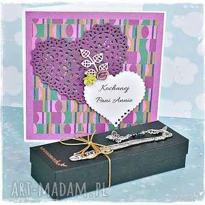 ręcznie zrobione scrapbooking kartki podziękowania/gratulacje - personalizacja