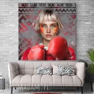 obraz na płótnie boxing, obraz, dodatki, dekoracje, sztuka, ścinę, plakaty
