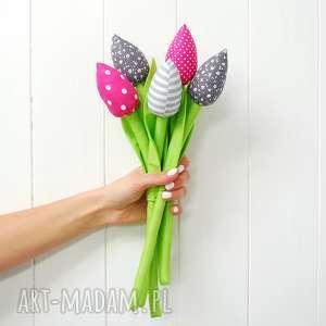 Tulipany, bukiet, tulipan, kwiat, kwiaty, kwiatki