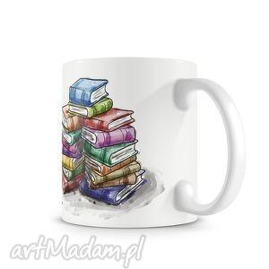 Prezent KUBEK - książki, kubek, herbata, prezent