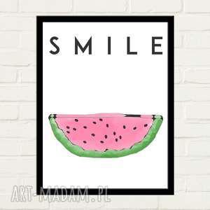 plakaty watermelon smile plakat 30x40