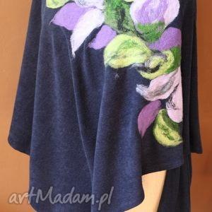 handmade poncho tunika i płaszcz magicznego ogrodnika