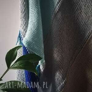 unikalny, chusta colorful birds, chusta, szal, nadrutach, bawełn len, prezent