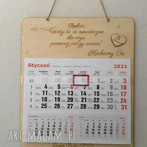 kalendarz ścienny prezent dzień babci, ścienny, dla babci