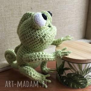 wyprzedaż śliczny kameleon, kameleon, maskotka, gadżet, zielony, elastyczny