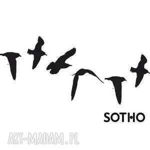 TATUAŻ CZARNE JASKÓŁKI - ,tatoo,tatuaż,jaskółki,ptaszki,ptaki,czarne,