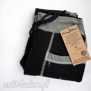 ONLY ONE No 010 - spodnie dziecięce 128 cm, dres, bawełna, recykling, eco, unikat