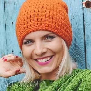 czapka handmade, czapka, ciepła, wełna, robiona-na-szydełku, szydełkowe, uniwersalna