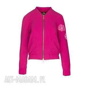 BLUZA MONIKA 8136, bluza-haftowana, bluza-z-suwakiem, bluza-elegancka,