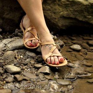 hand made buty sandały wężyki