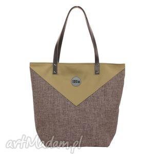 na ramię torba worek triangle 5, worek, elegancka, pojemna, duża, prezent, mana