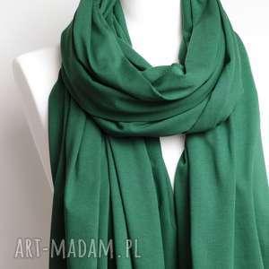 szaliki wiosenny szal bawełniany, szalik, chusta, apaszka zielony szalik