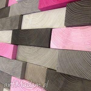 Mozaika drewniana - NA ZAMÓWIENIE, obraz, drewniany, drewniana, drewniane, ozdoba