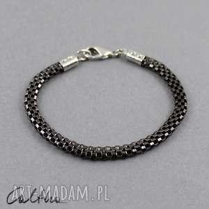 Wężowa bransoletka, bransleta, wężyk, żmijka, łańcuszek, metalowa