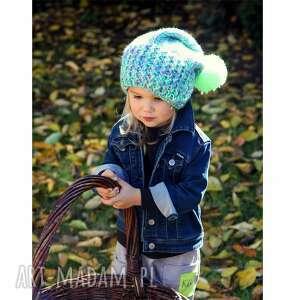 ręcznie wykonane dla dziecka czapunia kraa mode
