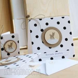 Kartka lub zaproszenie na urodzinki scrapbooking kartki annamade