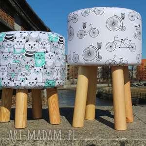 pufa jadę na rowerze 2 - 45 cm, puf, pufa, taboret, siedzisko, hocker, ryczka